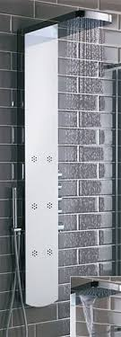 additional image for shimmer thermostatic shower panel with jets
