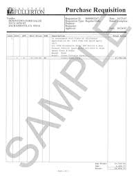 Purchase Order Forms Sample Contracts And Procurement Policy And Procedures Financial Services