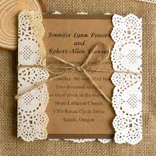 Burlap And Lace Wedding Invitations Lace Wedding Invitations Best Choice For Vintage And Rustic Weddings