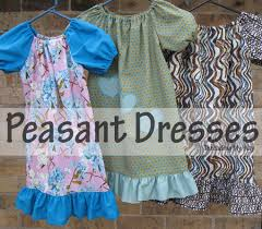 Peasant Dress Pattern Simple Threading My Way Peasant Dresses