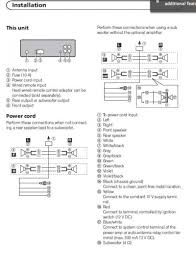 wiring diagram for pioneer deh p8400bh the wiring diagram Pioneer Deh 33hd Wiring Diagram wiring diagram for pioneer deh p8400bh the wiring diagram Wiring-Diagram Pioneer Deh 34