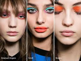 fall winter 2016 2017 makeup beauty trends colorful eye makeup