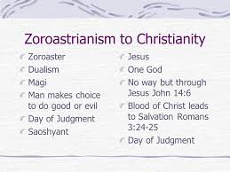Zoroastrianism Vs Christianity Chart Memory Scriptures Philippians 4 13 I Can Do Everything