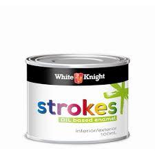 white knight strokes 100ml cherry red