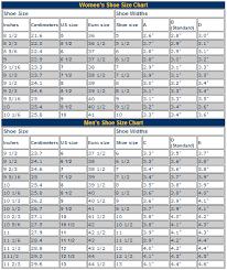 Shoe Width Chart Explained 80 Exhaustive Womens Foot Width Chart