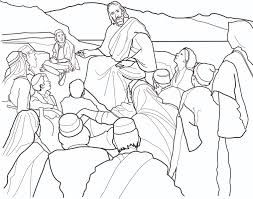 Jesus Teaching In The Temple Coloring Page In The Page - glum.me