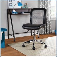 mainstays vinyl and mesh task office chair
