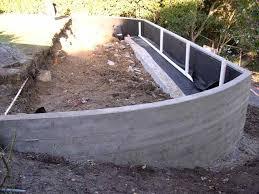 concrete retaining wall excellent ideas concrete bag retaining wall plans 2016 home design ideas concrete