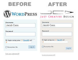 How To Customise Your Wordpress 2.5+ Log In Screen | JUST™ Creative