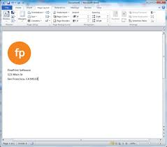 creating letterhead in word using letterhead fineprint