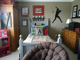 Bedroom Ideas : Wonderful Wooden Drawer And Baseball Themed Sports ...