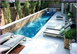 small inground pool cost small backyard pools lap pool in small backyard google search screened hot