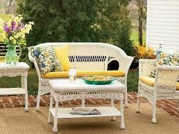 vintage wicker patio furniture. Vintage White Wicker Patio Furniture I
