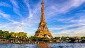 European Cities Eiffel Tower And River ...