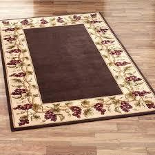 kitchen fruit rugs wonderful design bamboo rug washable vegetables runner