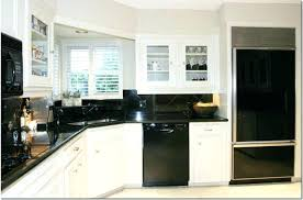 kitchen design white cabinets black appliances. White Cabinets Black Appliances Design Kitchen Cabinet . E