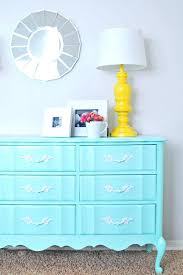 colorful painted furniture. Simple Colorful Exotic Blue Painted Dresser Going To Try This With An Ugly Brown  For The Spare Inside Colorful Painted Furniture E