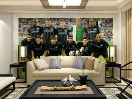 Manchester City Wallpaper For Bedrooms Wall Murals Mural The Cuty Self Adhesive New York Lights