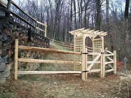 building a split rail fence gate