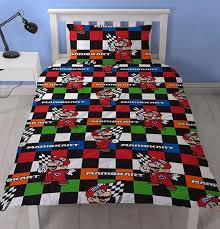 nintendo super mario brothers luigi single doona quilt duvet cover
