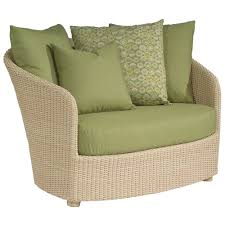 Replacement Cushion Whitecraft by Woodard Oasis Wicker Chair and