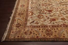 rugsville traditional wool light green light gold rug 21037 270x370 21037 912