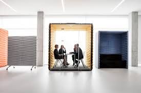 Open Concept Office Design Impressive Vank's Soundproof Pods Offer Private Workspaces For Openplan Offices