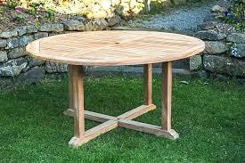 round garden tables garden tablescape