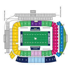 Los Angeles Chargers Seating Chart Tickets Los Angeles Chargers Carson Ca At Ticketmaster