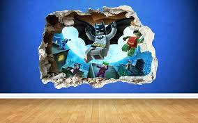 lego wall decals batman wall sticker lego batman 3d wall decal