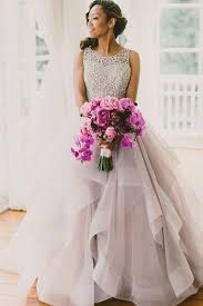 a line scoop neckline organza wedding dresses 2017 long custom
