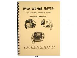 wico service parts manual for type xh magnetos wico magnetos wico service parts manual for type xh magnetos wico magnetos amazon com books
