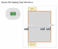 Texans Game Seating Chart Houston Texans Nrg Stadium Seating Chart Interactive Map