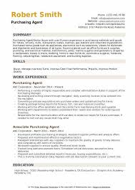 Resume Purchasing Purchasing Agent Resume Samples Qwikresume