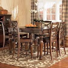 porter dining room table set. large picture of porter d697 7 pc dining room counter set hd table h