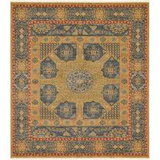palace blue 10 x 11 4 square rug