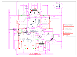 the file is the ground plan of a house