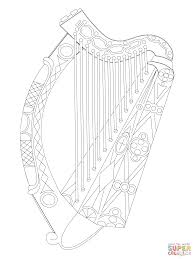 Small Picture Irish Harp Coloring Page Best Of Coloring Pages creativemoveme