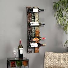 metal wine rack wall incredible furniture wall mounted wine image for wood rack mount trend and