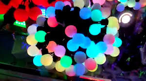 Ping Pong Fairy Lights Led Fairy Lights Colour Changing Rgb Ball String Lights By