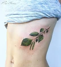 20 идей татуировок для тех у кого в душе всегда весна