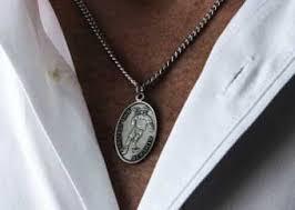 patron saint sport necklaces