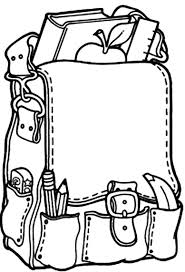 Small Picture Backpack Coloring Pages 27965 Bestofcoloringcom
