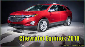 Chevrolet Equinox 2018 Premier Interior Review - YouTube