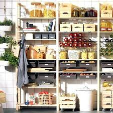 pantry shelving ideas used as a kitchen storage ikea