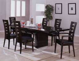 mesmerizing black wood dining table and chairs creative of dining table with chair