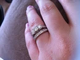 Stone Ring Ladies Wedding Band Advice Weddingbee