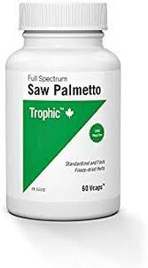 Trophic <b>Saw Palmetto Full Spectrum</b>, 60 Count: Amazon.ca: Health ...