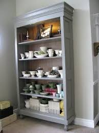 DIY - bookcase made from old door Here's the perfect use for the doors  taking up
