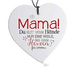 Formano Herz Hänger Mama Spruch Muttertag Herzhänger Mutter